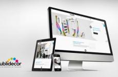 Publidécor, actualité, lancement site internet